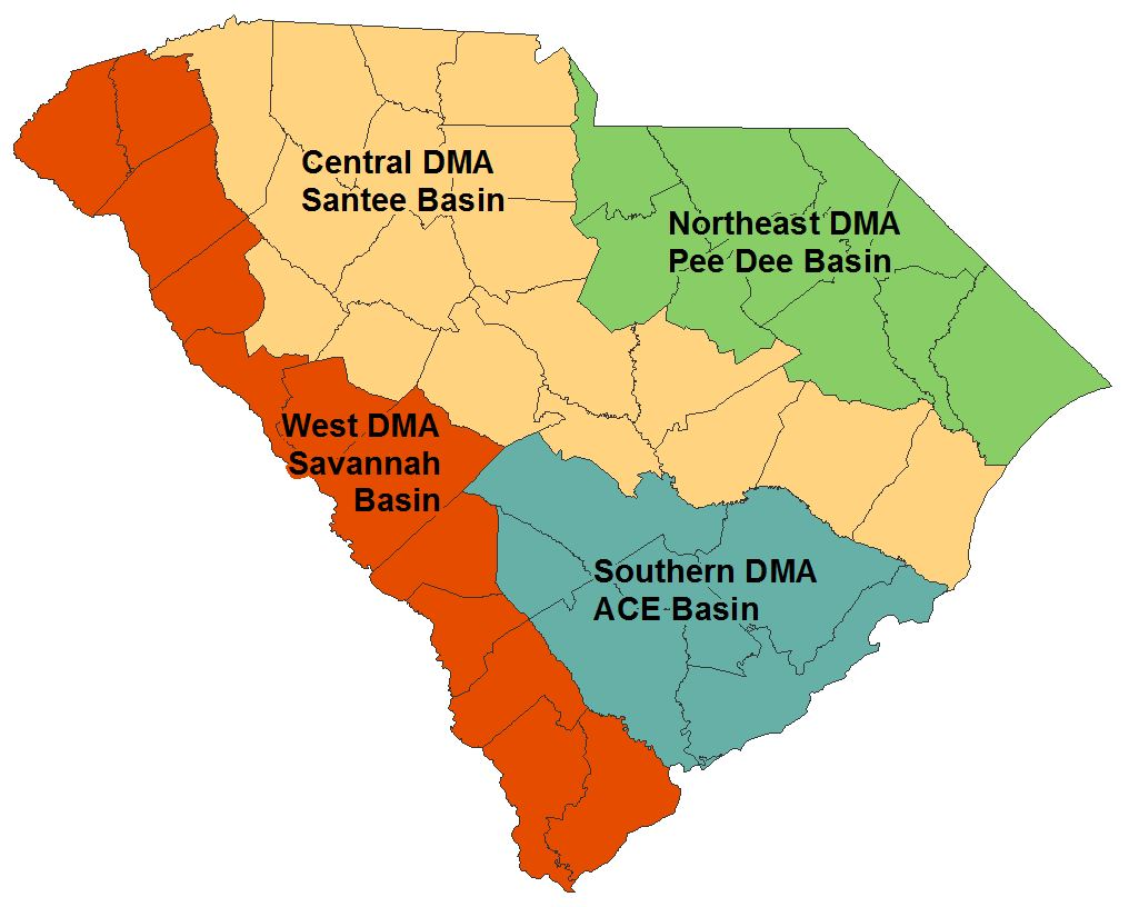 sc drought response committee regions